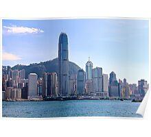 Facing HK Central District - Hong Kong. Poster