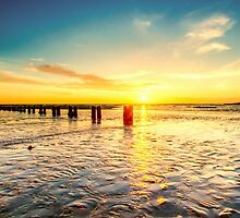 Pillars to the sun by Alan Pryor by jerseygallery