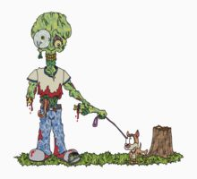 Zombie Dog Walker T-Shirt