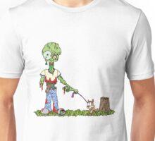 Zombie Dog Walker Unisex T-Shirt