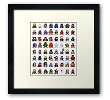 Marvelous 8-bit Framed Print