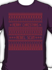 Merry Christmas Rebel Scum T-Shirt