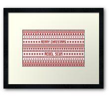 Merry Christmas Rebel Scum Framed Print