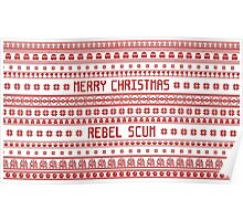 Merry Christmas Rebel Scum Poster