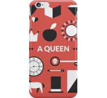Once Upon A Time - A Queen iPhone Case/Skin