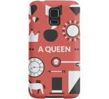 Once Upon A Time - A Queen Samsung Galaxy Case/Skin