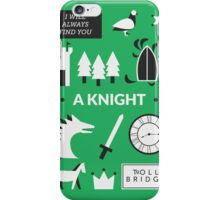 Once Upon A Time - A Knight iPhone Case/Skin