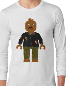 Zombie Minifig Long Sleeve T-Shirt