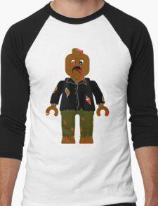 Zombie Minifig Men's Baseball ¾ T-Shirt
