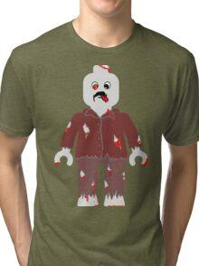Zombie Minifig  Tri-blend T-Shirt