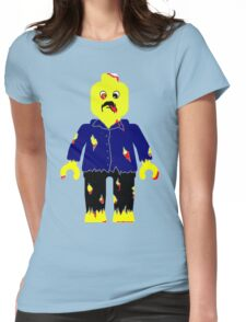 Zombie Minifig Womens Fitted T-Shirt