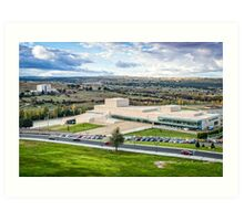 Congress and Exhibitions Center of Avila Art Print