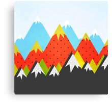 Moutains 3 Canvas Print