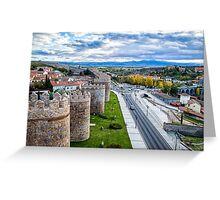 The Walls and the River Greeting Card