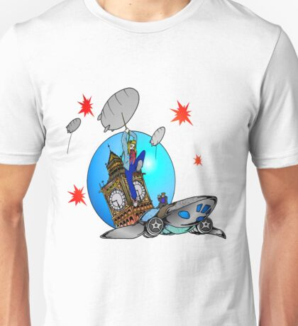 Rose Tyler Meets Captain Jack Harkness Unisex T-Shirt