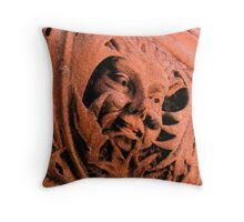 Fresco Face Throw Pillow