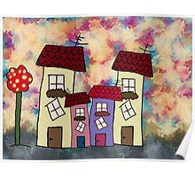 Lovely houses Poster
