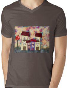 Lovely houses Mens V-Neck T-Shirt