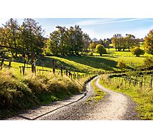 Country Roads Photographic Print