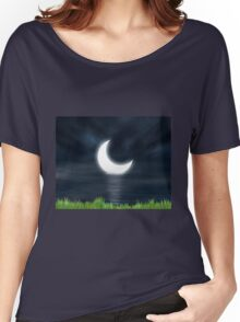 Moon on the water 2 Women's Relaxed Fit T-Shirt