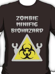 ZOMBIE MINIFIG BIOHAZARD T-Shirt