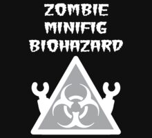 ZOMBIE MINIFIG BIOHAZARD One Piece - Short Sleeve