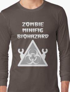 ZOMBIE MINIFIG BIOHAZARD Long Sleeve T-Shirt