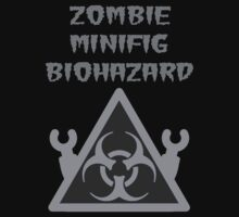 ZOMBIE MINIFIG BIOHAZARD Kids Clothes