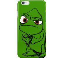 Pascal punch iPhone Case/Skin