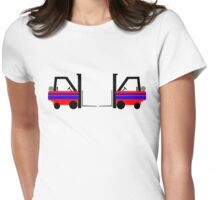 Forklift Precision Driving Team Womens Fitted T-Shirt