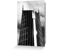Melbourne Central Tower Greeting Card