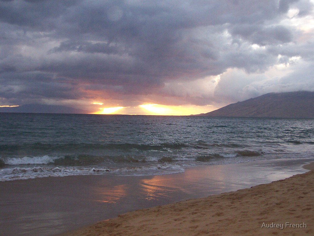 Kihei Sunset by Audrey French