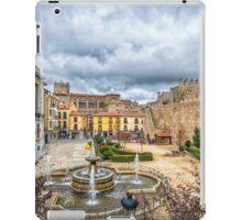 San  Geronimo Street, Avila iPad Case/Skin