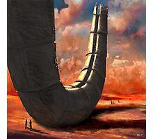 desert ruin Photographic Print