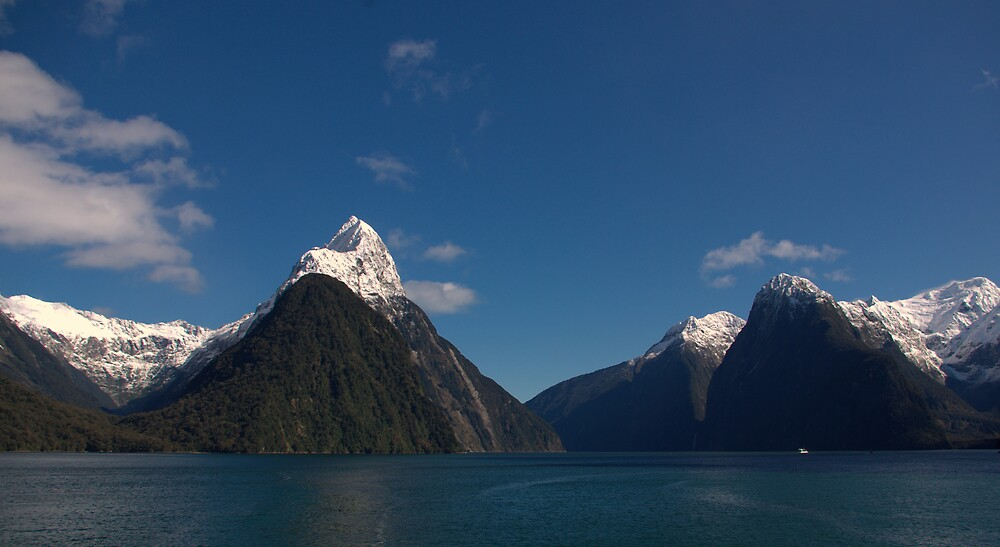 Milford Sound New Zealand 2 by Geoff46