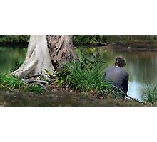 Homeless in Paradise Photographic Print