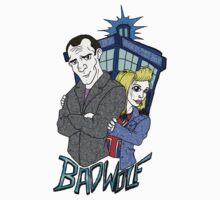 Ninth Doctor & Rose Kids Tee