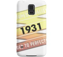 Highest Quality 1931 Aged To Perfection Samsung Galaxy Case/Skin
