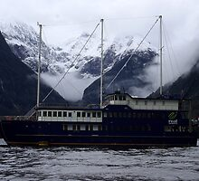 "Milford Sound New Zealand 5 - ""Milford Mariner"" by Geoff46"