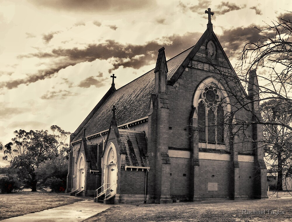 St. Marys Chuch - Inglewood Victoria by Rachael Taylor