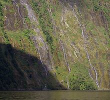 """Milford Mariner"" cruising on Milford Sound by Geoff46"