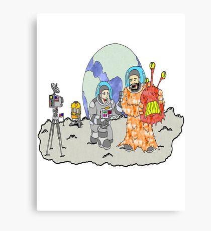 Nasa Joke Canvas Print