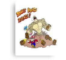 Revenge of Donkey Kong Metal Print