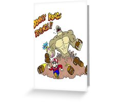 Revenge of Donkey Kong Greeting Card
