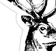 Stag 506 (With Pipe) Sticker