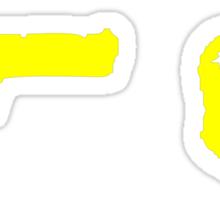 Headshot Sticker