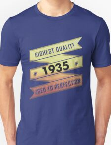 Highest Quality 1935 Aged To Perfection T-Shirt