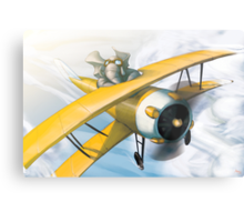 from the Vault - Born to Fly Metal Print