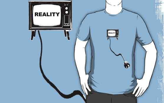 Reality TV by nofrillsart