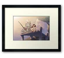 from the Vault - One Fine Day Framed Print